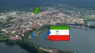 Flag Map Speedart - Equatorial Guinea