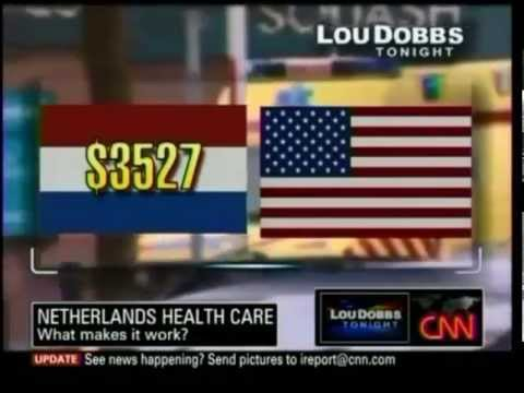 Dutch health care system comparison with USA