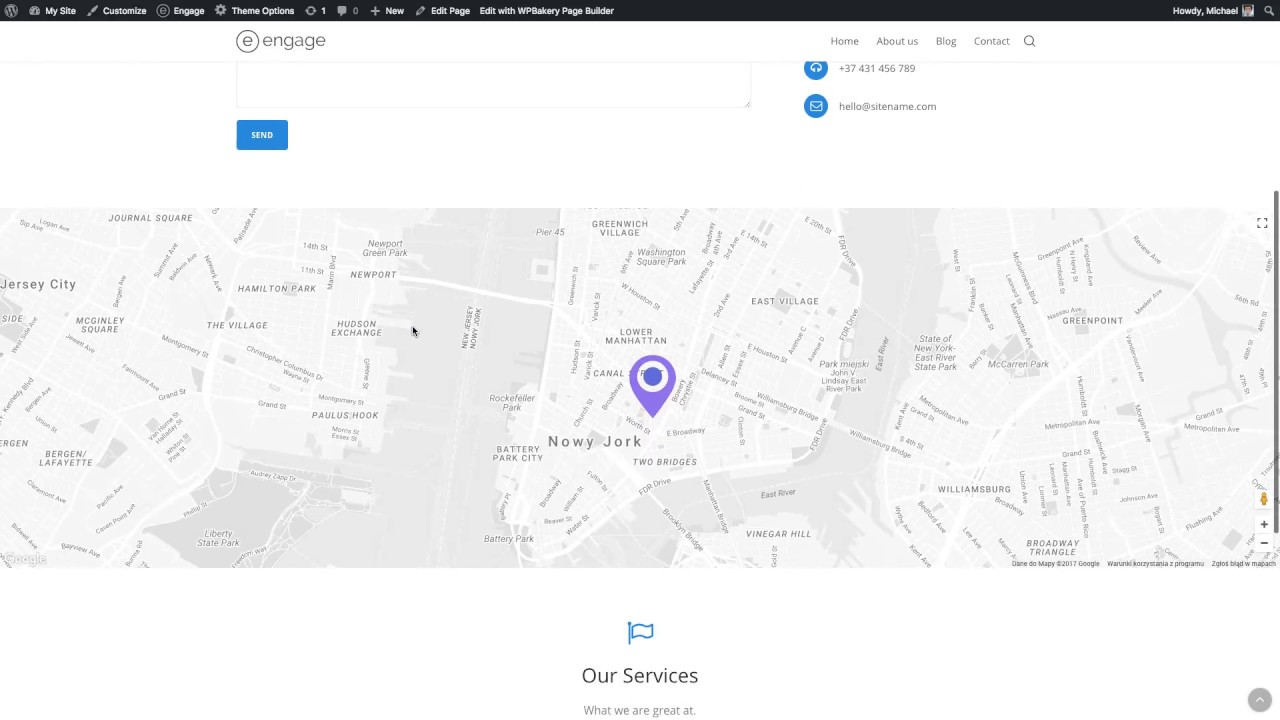 Ene WP Theme: Contact Page & Google Maps Google Map Contact on contact bing maps, contact microsoft, contact icons, contact apple,
