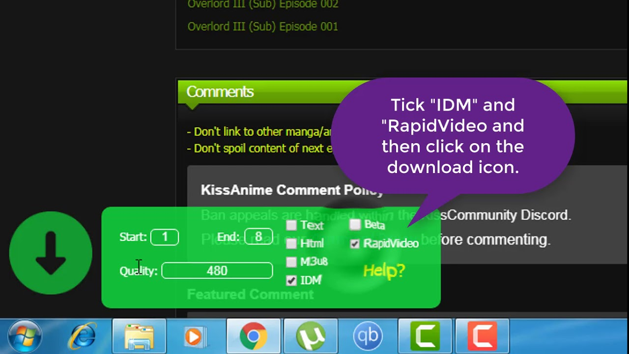 How To Batch Download Any Anime Animation