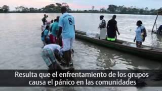 Colombia: habitantes de la costa Pacífica viven en medio del conflicto