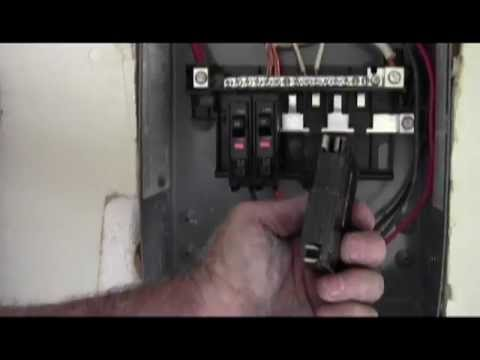 NEC electrical code on panel sub panel installation 1 I #172 - YouTube