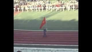 XVII Olympic Games. Rome 1960. Opening ceremony, amateur footage.