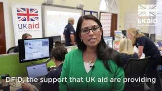 Hurricane Irma #UKaid crisis operations room