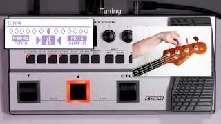 GT-1B Quick Start chapter2 :Tuning the Bass Guitar