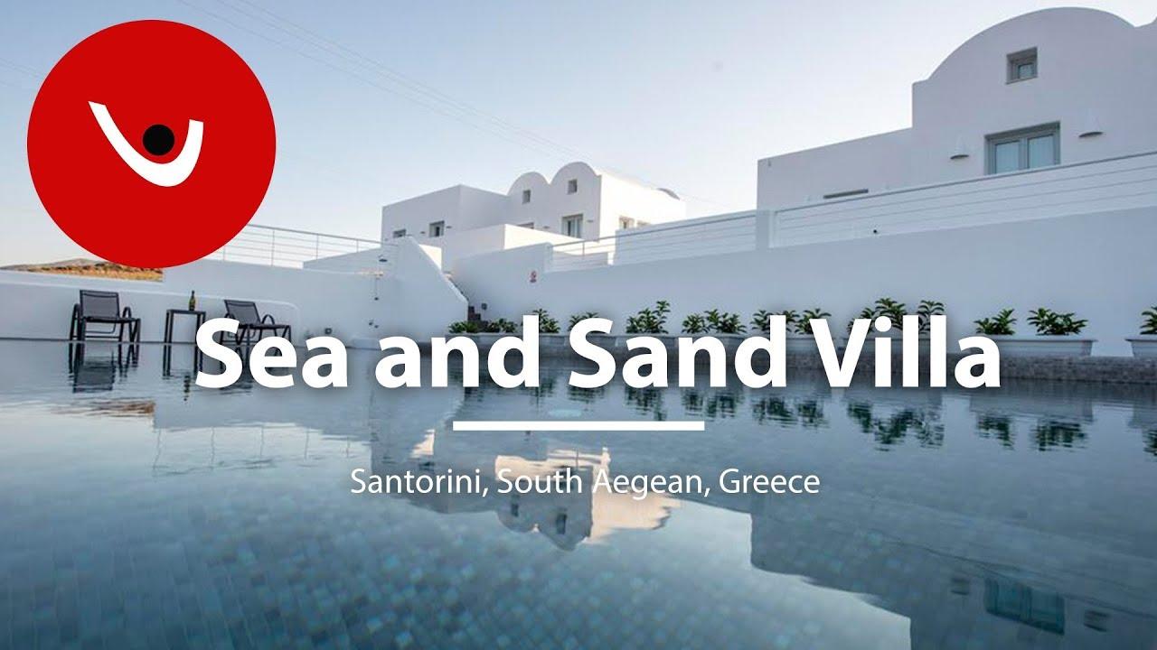 Sea And Sand Villa To Rent In Santorini Greece Unique Villas Uniquevillas Gr