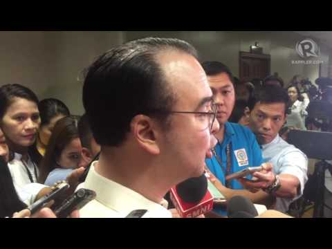 Cayetano to Lopez: 'Will we have an arbitrary DENR?'