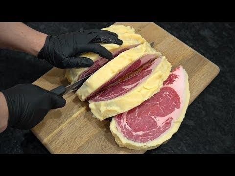Madurando Carne con Grasa de Cerdo - 45 días | La Capital