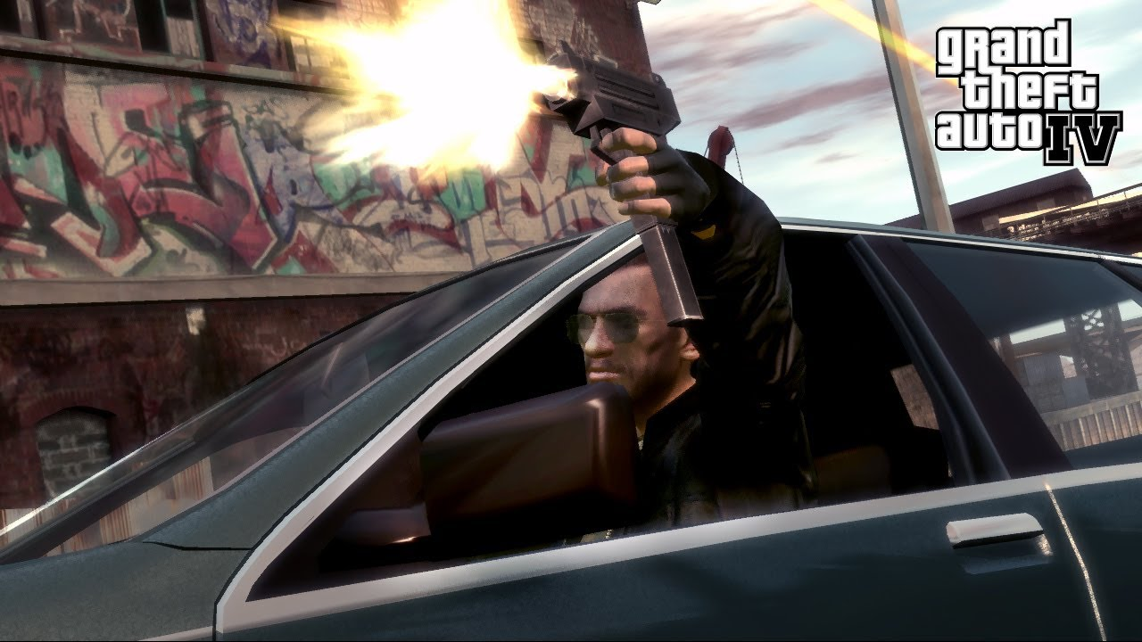 Car Money Watch Wallpaper Drive By Shooting Gta 4 Youtube
