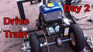 Motorized Desk Chair Build - Day 2