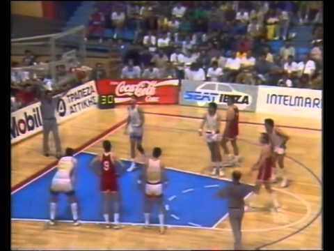 EUROBASKET '89: USSR - SPAIN 108-96 (DAY 3)