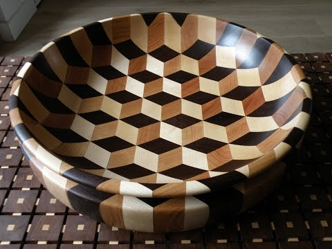 Woodturning - Tumbling bowl xl (short edit)
