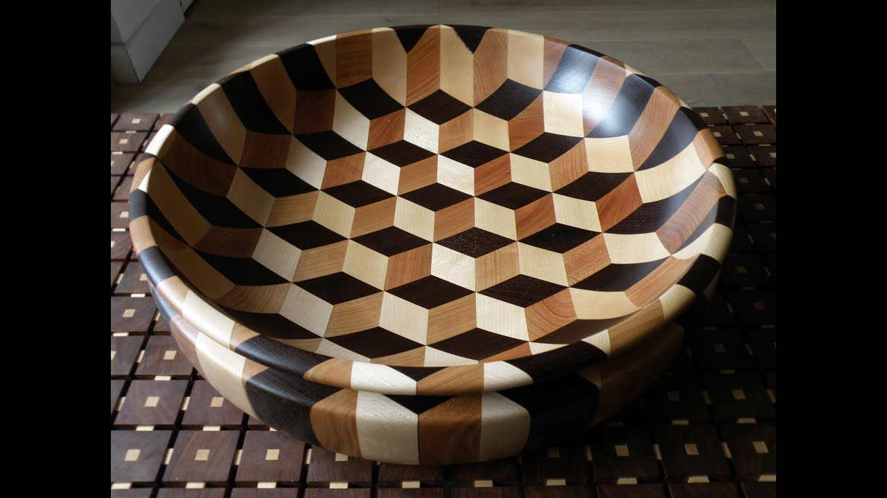 Woodturning Tumbling Bowl Xl Short Edit Youtube