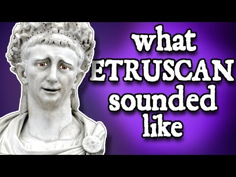 What Etruscan Sounded