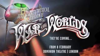 the war of the worlds trailer dominion theatre