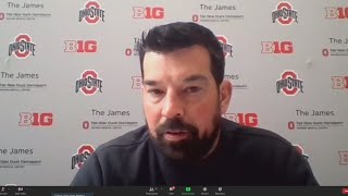 Ohio State Football Coach Ryan Day News Conference