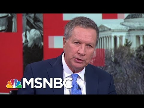 "Gov. Kasich: ""In My Lifetime I've Never Seen This Country Divided Like This"" 