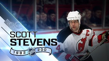 Scott Stevens was a feared, big-hitting defensman