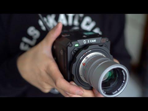 M-Mount Full Frame Cine Camera! First Look Hands-on