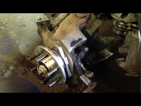 How To Repair Damaged Threads (steering knuckle caliper holes 97 dakota)