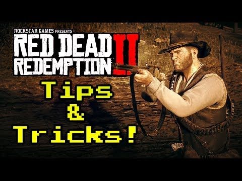 Red Dead Redemption 2 Tips! Master Dead Eye, Weapon Cleaning and more!