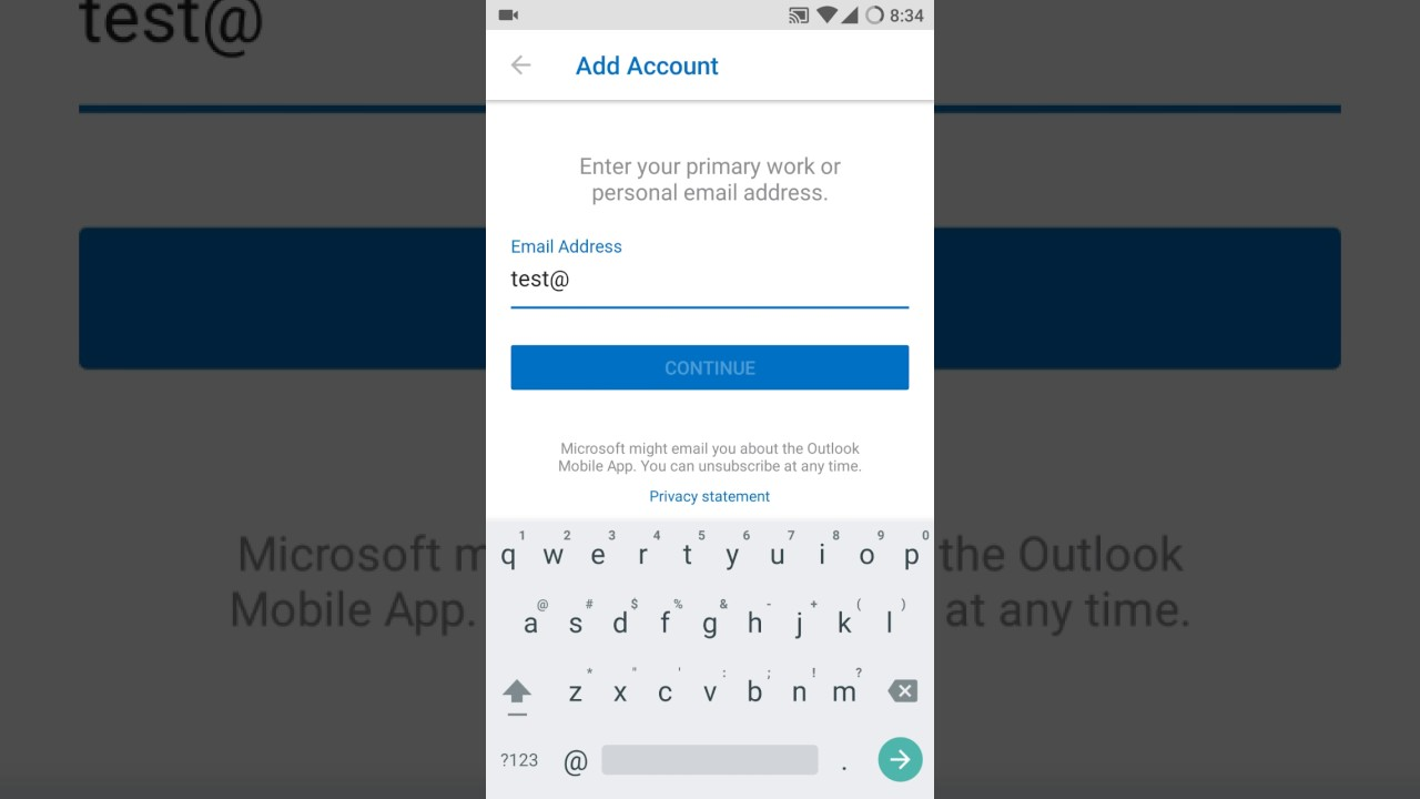 Configure your cPanel Email to Outlook Android App