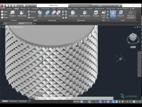 CAD Forum - Modelling 3D knurling - e g  knurled surface of a