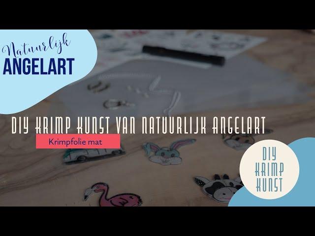 krimpie Dinkie Diy Krimp Kunst van Natuurlijk Angelart
