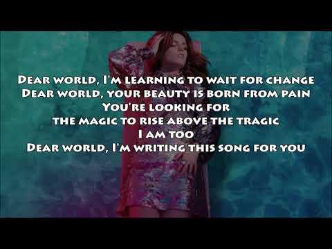 Echosmith - Dear World (LYRICS) NEW! 2017