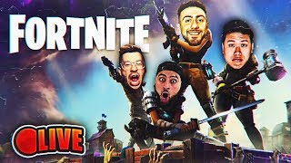 Fortnite Battle Royale! PLAYING WITH TEAM ALBOE! TOUT CE QU'ON A, C'EST GAGNER !