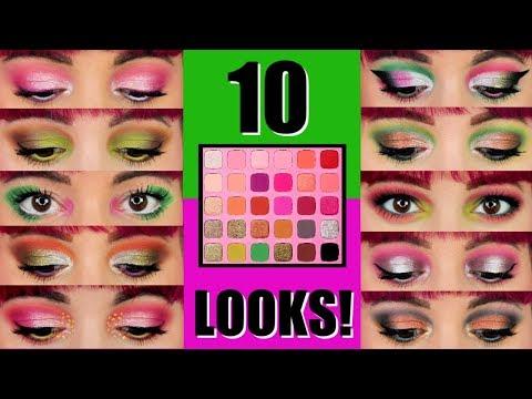 Jeffree Star X Morphe Artistry Palette | 10 Looks 1 palette thumbnail