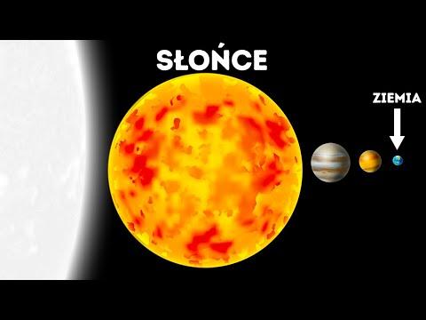 Planety, gwiazdy i galaktyki według rozmiarów