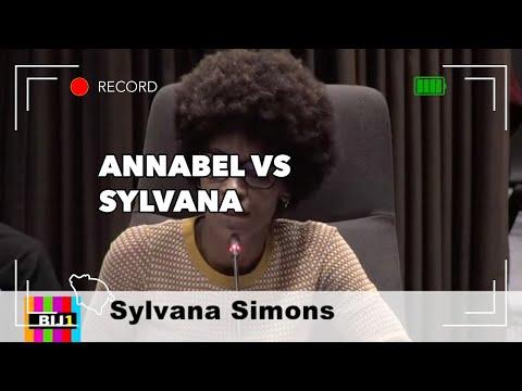 Annabel Nanninga versus Sylvana Simons over asielzoekers en illegalen