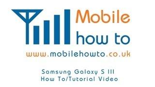 How To Change/Set Ringtone - Samsung Galaxy S3