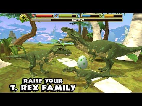 Jurassic World: Tyrannosaurus Rex Dinosaur Simulator - Part 4 iPHONE, iPAD,