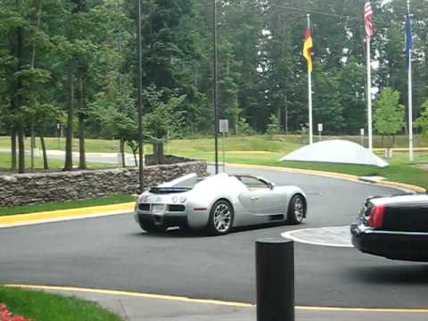 Bugatti Veyron at Volkswagen-Audi Headquarters of North America