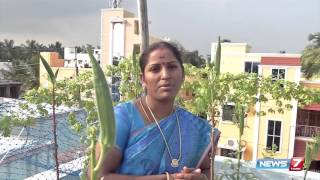 How to take care of plants in Terrace Garden? | Poovali | News7 Tamil