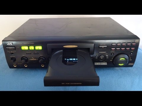 JVC XL-SV22 Video Disc, CD+G, CD Player, Karaoke Machine (SN-136C1337)