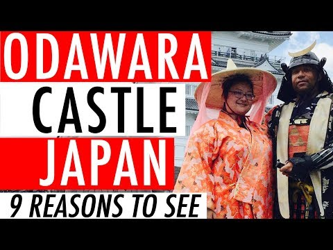 Japan Travel Diary - Odawara Castle, Kanagawa Japan Tourism Guide Video