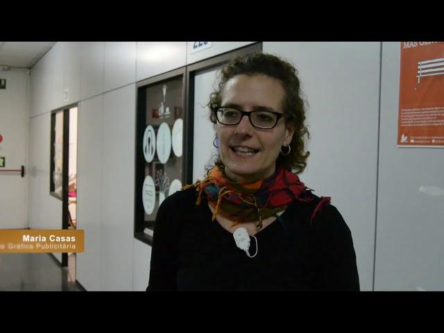 Creació postal de nadal - Escola Antoni Algueró