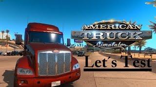 American Truck Simulator (Let´s Test)