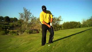 How To Hit Off Of A  Severe Uphill Lie