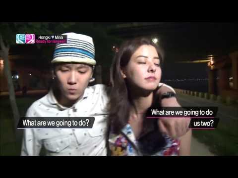 Lee Hongki & Fujii Mina Skinship