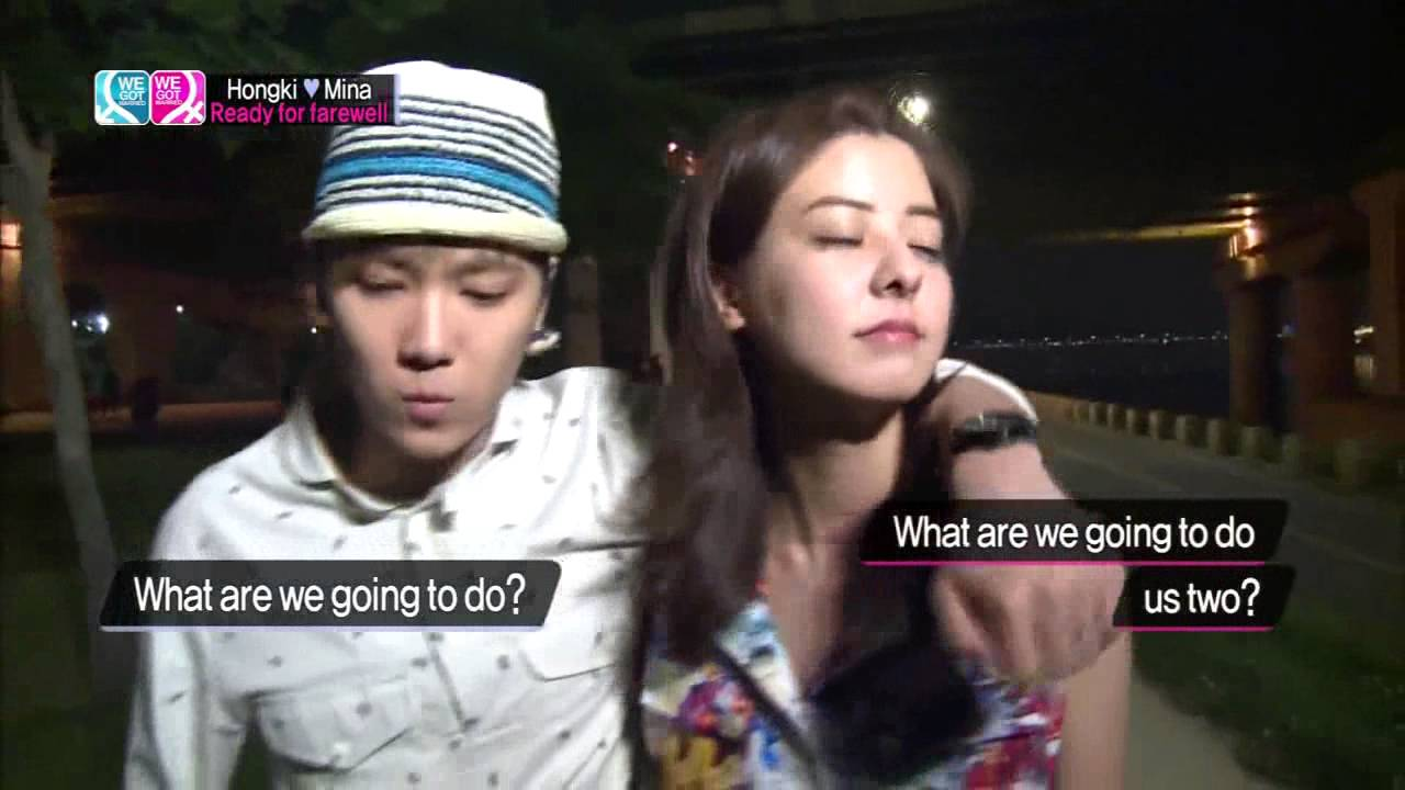 We got married mina and hong ki dating