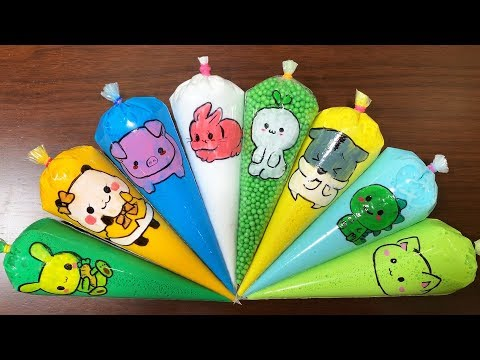 Making Foam Slime || Satisfying with Piping Bags || Perfect Slime Sound || Boom Slime