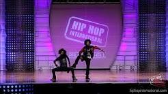 LES TWINS - France   Performance @ HHI's 2012 World Hip Hop Dance Championship