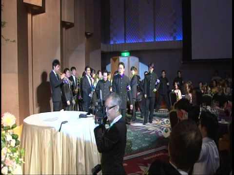 早稲田大学応援部 結婚披露宴ステージ余興