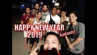 Gambar cover HAPPY NEW YEAR MGA KADAOT! /// 2019 ✨ // Drone Firework Shot