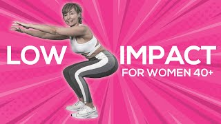 No Jumping Cardio Workout for Women Over 40