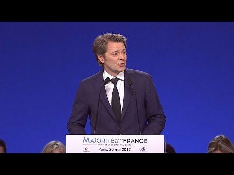 Discours de François Baroin au Parc Floral de Paris - 20 mai 2017